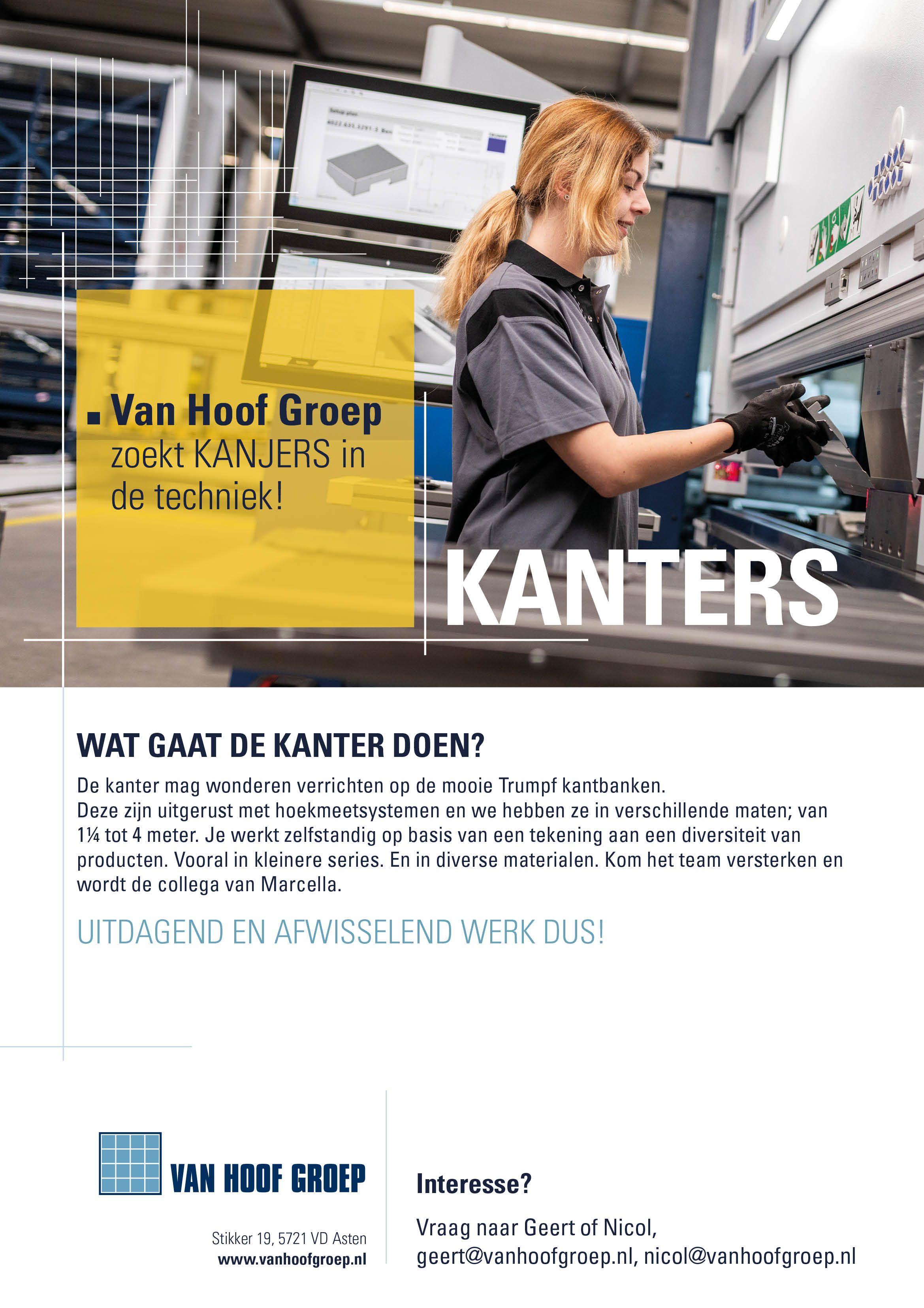 Vacature Posters Van Hoof Groep02