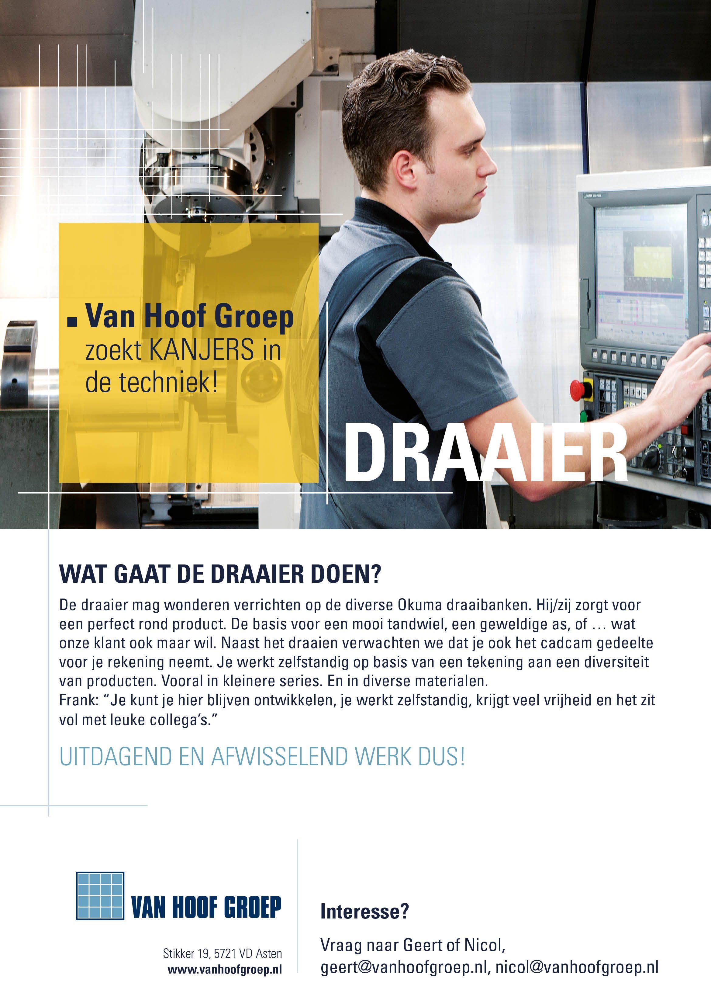 Vacature Posters Van Hoof Groep03