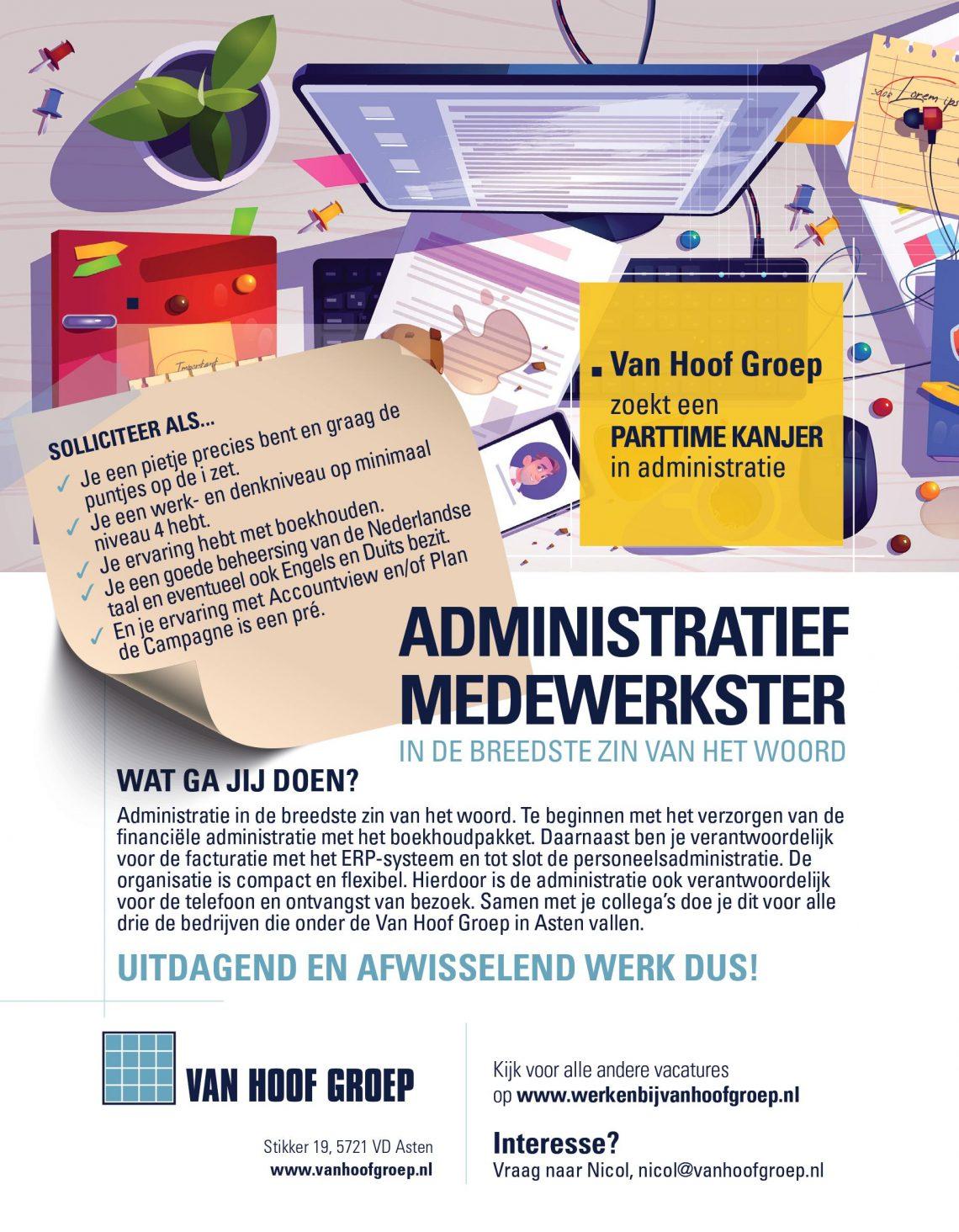 Administratief Van Hoof Groep